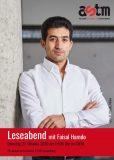 online-Lesung mit Faisal Hamdo und ASTM in Luxemburg